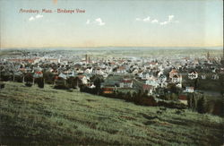 Bird's Eye View Postcard