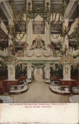Marshall Field & Co. Retail Store - Interior Decoration