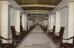 Congress Hotel and Annex - Marble Corridor
