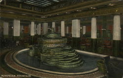 Congress Hotel and Annex - Pompeian Fountain