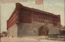First Regiment Armory, I. N. G., Michigan Ave and 16th Street