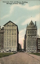 University Club and Monroe Building, Michigan Avenue