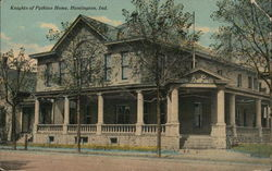 Knights of Pythias Home Postcard