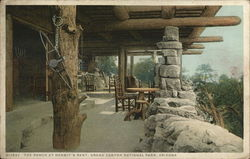 The Porch at Hermit's Rest, Grand Canyon National Park, Arizona