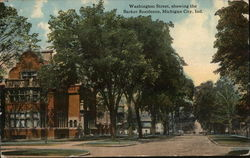 Washington Street and Barker Residence