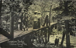 Suspension Bridge, Eastman Springs Park