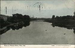 Scene on Wabash River