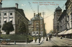 Morrison Street, Post Office and Hotel Portland