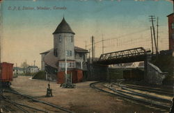 Canadian Pacific Railroad Station