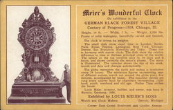 Meier's Wonderful Clock, German Black Forest Village