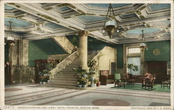 Hotel Touraine - Grand Staircase and Lobby