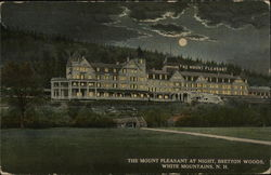 Mount Pleasant Hotel at Night