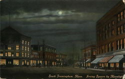 Irving Square by Moonlight