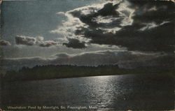 Waushakum Pond by Moonlight