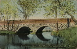 Half Moon Pond and Stone Arch Bridge