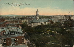 Bird's Eye View from Salem Square