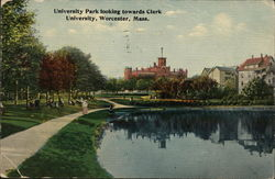 University Park Looking Toward Clark University