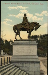 General Devens' Statue, Court Hall