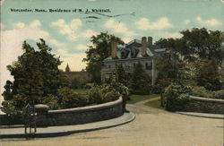 Residence of M. J. Whittall