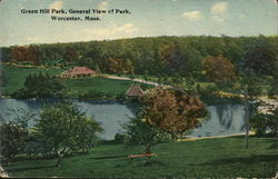 General View of Green Hill Park