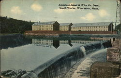 American Steel & Wire Co. Dam, South Works