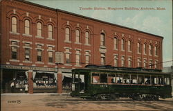 Transfer Station, Musgrove Building Postcard
