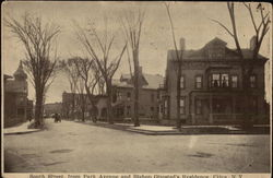 South Street From Park Avenue and Bishop Olmsted's Residence