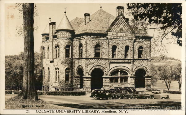 Colgate University Library Hamilton New York