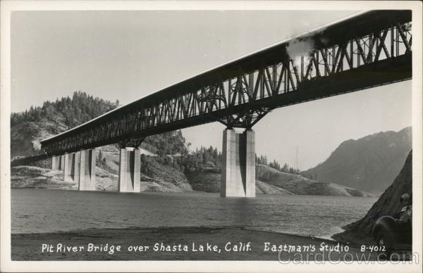 Pit River Bridge Over Shasta Lake California