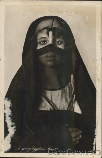 A Young Egyptian Woman Arab