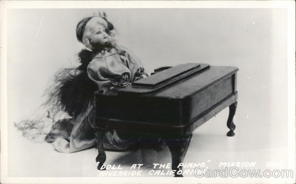 Doll at the Piano, Mission Inn Riverside California