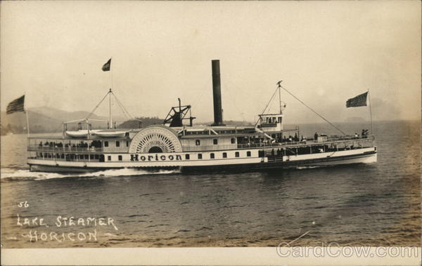 Lake Steamer Horicon Steamers