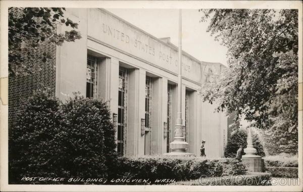 Post office Building Longview Washington