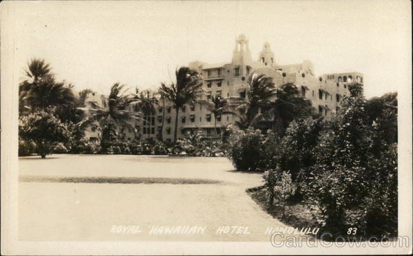 Royal Hawaiian Hotel Honolulu