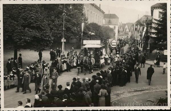 Parade in German Town