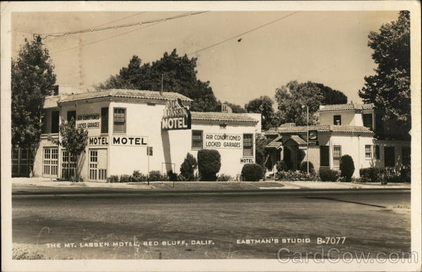 The Mt. Lassen Motel Eastman's Studio Red Bluff California