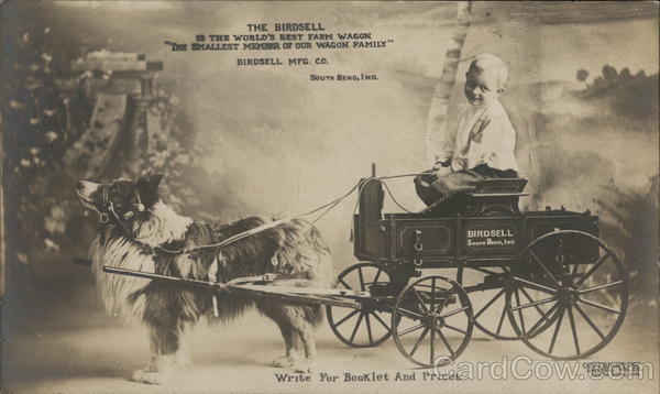 The Birdsell is the World's Best Farm Wagon Advertising