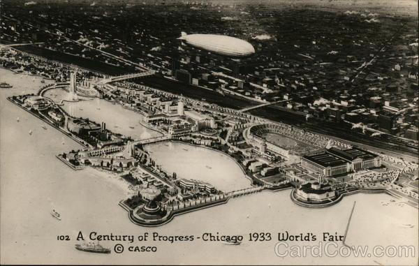 A Century of Progress - Chicago 1933 World's Fair Illinois