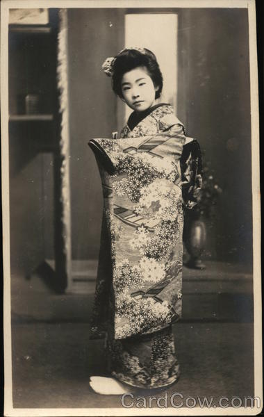 Portrait of Japanese Woman Asian
