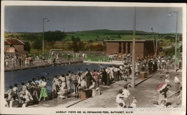 Murray Views No. 46. Swimming Pool Bathurst Australia