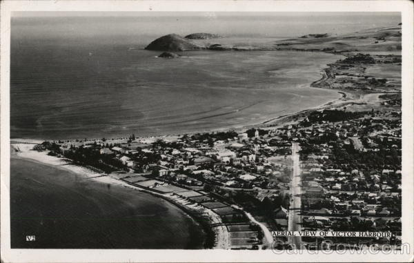 Aerial View of Victor Harbour Victor Harbor Australia