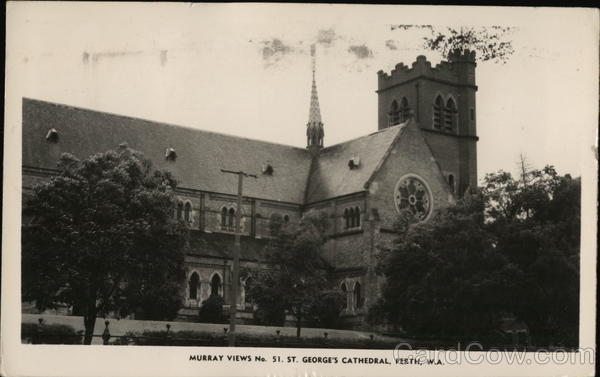 Murray Views No. 51. St. George's Cathedral Perth Washington Australia