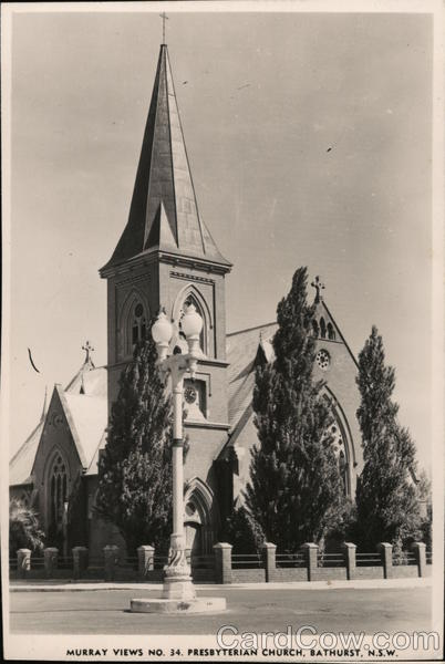 Murray Views No. Presbyterian Church Bathurst Australia
