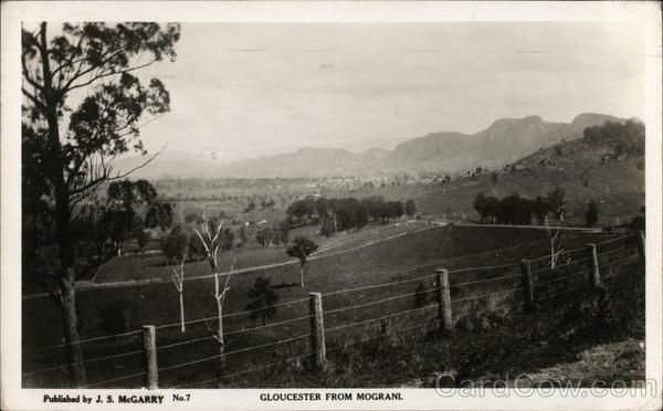 Gloucester from Mograni Australia