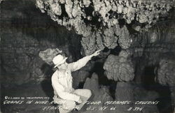 Grapes in Wine Room, Meramec Caverns