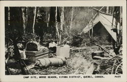 Camp Site, Moose Season