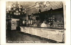 The Famous Crystal Bar Postcard