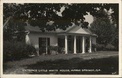 Entrance to Little White House