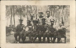 Group of Soldiers Posing for Photo