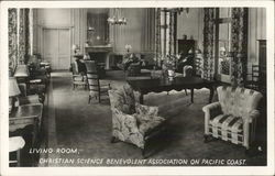 Living Room, Christian Science Benevolent Association on Pacific Coast